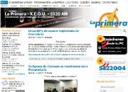 Página de noticias para radiodifusora