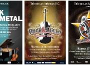 Posters para eventos varios