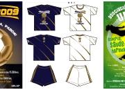 Posters y uniformes deportivos