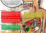 Infografía sobre alimentación