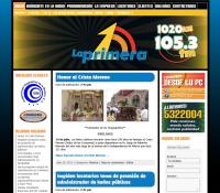 Rediseño de página Web Radiodifusora La Primera