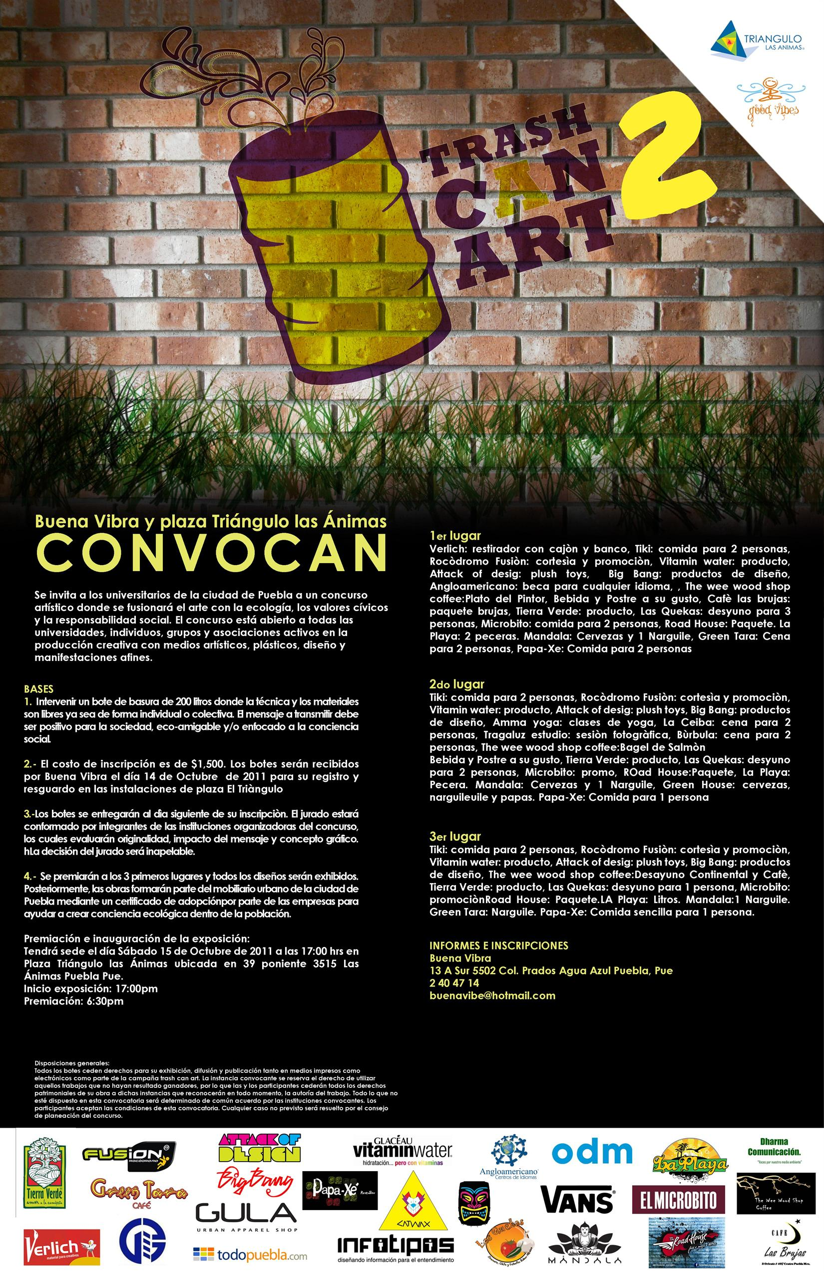Convocatoria: Trash Can Art